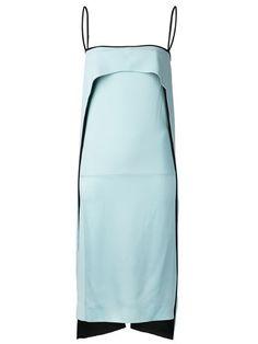 Atto split tail dress
