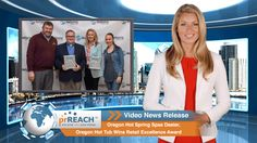 Oregon Hot Spring Spas Dealer, Oregon Hot Tub Wins Retail Excellence Award  http://www.prreach.com/oregon-hot-sprin…excellence-award/