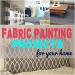 Like I shared in my guide Make Custom Curtains with Paint, I have a bit of a love affair with painting fabric. There is nothing quite like getting the exact color and design you want at a relatively low...