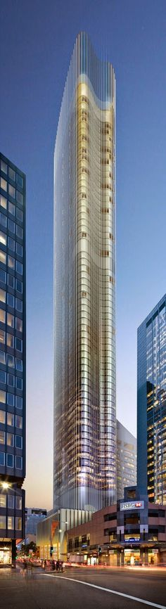 Architectural Designs -Tallest Residential Block in Sydney ~ Great pin! For Oahu architectural design visit http://ownerbuiltdesign.com