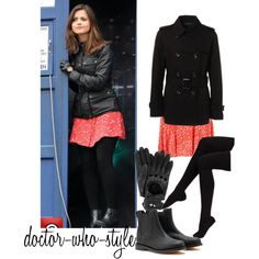 """clara oswald"" by doctor-who-style on Polyvore"