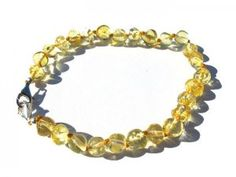 Baroque Amber Adjustable Bracelet amberpumpkin.com Anklet Bracelet, Anklets, Bracelets, Baltic Amber Teething Necklace, Health Bracelet, Adjustable Bracelet, Baroque, Gold, Beautiful