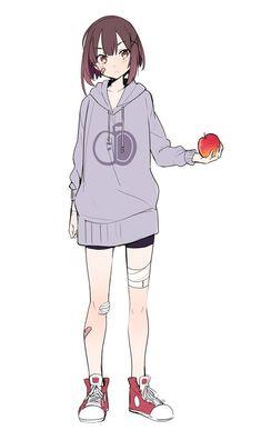 Pretty Anime Girl, Kawaii Anime Girl, Anime Art Girl, Chica Anime Manga, Manga Girl, Dessin Old School, Poses Anime, Chibi, Female Anime
