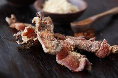 Cornmeal Crusted Bacon - bacon is good on anything!