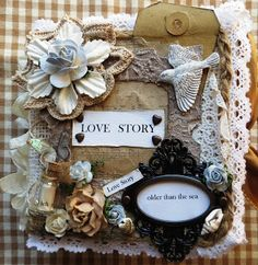 Scrapsels from Lean: MIni album Love Story!