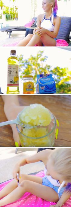 Get Silky Smooth Legs with Homemade Sugar Scrub | Awesome Summer Life Hacks for Teens