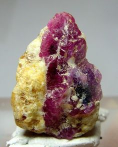 4 Grams Gorgeous Ruby Bunch Specimen From Afghanistan
