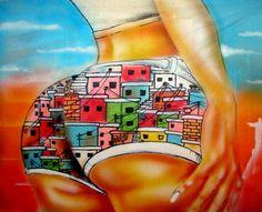 By Wark Rocinha, Rio de Janeiro