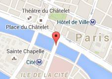 Pont Notre-Dame: carte