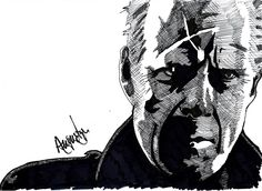 John Hartigan -  Bruce in Sin City