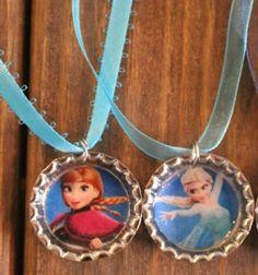 Upcycled bottle cap necklaces / Nyakláncok gyerekeknek söröskupakokkal /  Mindy -  creative craft ideas