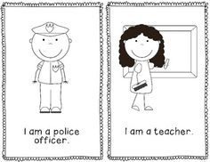 Community Helpers Emergent Reader- Free This will be great for my Kindergarteners!- great to create own big book! Community Helpers Kindergarten, Kindergarten Social Studies, School Community, Kindergarten Science, Classroom Community, Teaching Social Studies, Kindergarten Reading, Preschool Literacy, Social Studies Communities