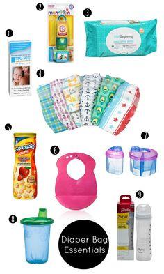 Diaper Bag Essentials | Shoes Off Please