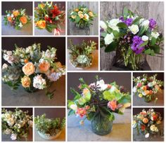 Make people happy.  Send flowers - www.DragonflyFloral.com - #sendflowers #organicbouquets #dragonflyfloral.com
