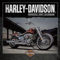 Calendario 2015 Harley Davidson | Calendario de Pared