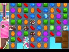 Candy Crush Saga level 135 - Collect 5 Color Bombs [NEW]