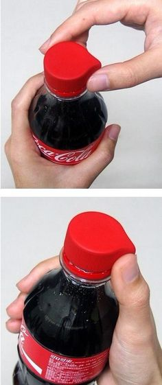 New design of the cap, not a coke fan but thought this was cool