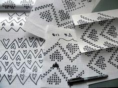 omⒶ KOPPA: KIRJONEULEVILLASUKAT Drops Design, Knots, Container, Malli, Buttons