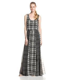 $266 - Ella Moss Women's Paige Silk Plaid Print Mix Maxi Dress, Black, X-Small Ella #sponsored http://www.amazon.com/gp/product/B00H3XS6YO/ref=as_li_tl?ie=UTF8&camp=1789&creative=390957&creativeASIN=B00H3XS6YO&linkCode=as2&tag=myswecit0a-20&linkId=XXLT2ABFWI7IX6BS #convann2 #maxudresses