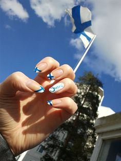 ZigiZtyle: Inspiration Nails: Ice Hockey World Championship 2012 in Finland