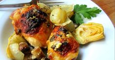 Stacey Snacks: The Chew's Baked Artichoke Chicken