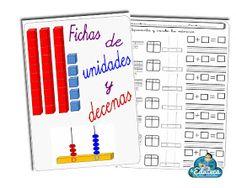 La Eduteca: RECURSOS PRIMARIA | Fichas de unidades y decenas