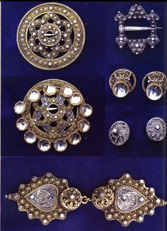 FolkCostume&Embroidery: Costume and 'Rosemaling' Embroidery of West Telemark, Norway Filigree Jewelry, Silver Jewelry, Norway Viking, Finger Weaving, Folk Costume, Costumes, Tablet Weaving, Hardanger Embroidery, Thinking Day