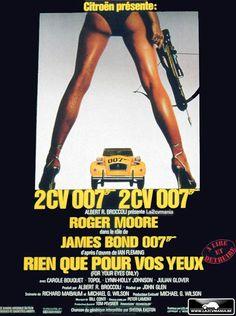 LA 2CV MANIA: Les séries spéciales : la 2cv 007 James BOND ! • citroen 2CV • citroen 2CV art