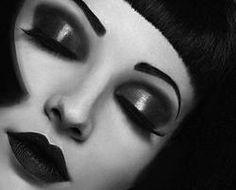 Lime Crime Makeup on we heart it / visual bookmark – Makeup Looks Makeup Art, Beauty Makeup, Eye Makeup, Hair Makeup, Art Deco Makeup, Makeup Ideas, Lime Crime Makeup, Louise Brooks, Vintage Makeup