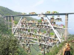 Parasitic City Takes Over Decommissioned Italian Highway Slow – Inhabitat - Green Design, Innovation, Architecture, Green Building Highway Architecture, Architecture Durable, Architecture Design, Futuristic Architecture, Sustainable Architecture, Amazing Architecture, Landscape Architecture, Building Architecture, Classical Architecture