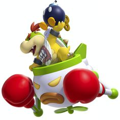 We can still keep our fingers crossed for our little buddy bowser Jr. For super smash bros. 4  Bowser Jr:I'm coming!