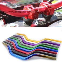 Cheapest prices US $23.30  1pcs Motorcycle handlebar 22*700mm Aluminum handle Vintage motorcycle accessories  Multicolor optional for  BWS125 MSX125