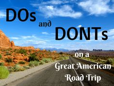 Road trip tips for driving across America.