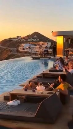 Beautiful Vacation Spots, Beautiful Places To Travel, Cool Places To Visit, Beautiful Hotels, Dream Vacation Spots, Vacation Places, Dream Vacations, Vacation Trips, Cavo Tagoo Mykonos