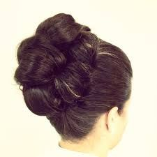 Image result for hair up using barrel curls