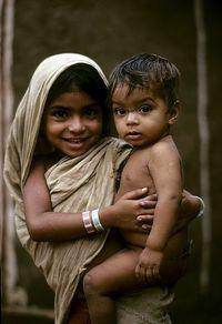Children of Hyderabad, India