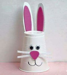 Pic for 50 Easter Crafts for Kids - Bunny Cup - Easter Craft Ideas for Pre. Click Pic for 50 Easter Crafts for Kids - Bunny Cup - Easter Craft Ideas for Pre., Click Pic for 50 Easter Crafts for Kids - Bunny Cup - Easter Craft Ideas for Pre. Bunny Crafts, Easter Crafts For Kids, Easter Ideas, Rabbit Crafts, Easter Art, Easter Crafts For Preschoolers, Easter Eggs, Easter Garden, Easter Table