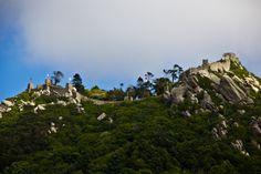 The Moorish Castle overlooked the city of Sintra
