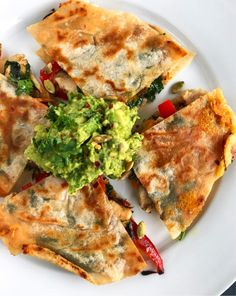 Print Quesadilla-- New and Improved If you grew up on quesadillas like I did, you will LOVE this fresh take on it. The same mouthwatering flavor as before, except this time with more nutrients 😉 Prep Time 5 minutes Cook Time 10 minutes Total Time 15 minutes Servings 2 Author Rachael DeVaux Ingredients 2 Siete ... Read More about  Quesadilla– New And Improved