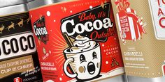 HMSDesign HolidayCocoa - The Dieline -