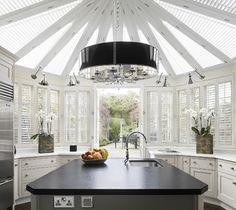 Conservatory cum kitchen - beautiful modern kitchen - lovely | Bruce Norman Long Interior Design