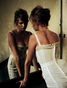 Lara Stone by Nan Goldin - Vogue Paris