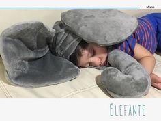 A nuestro ayudante le dió un poco de sueño!! Busca tu disfraz de #elefante para esta #primavera