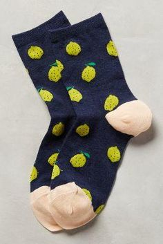 Pucker Up Socks by Hansel From Basel Navy One Size Lounge