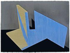 "Samara Adamson-Pinczewski ""Polywarp"" 2010 acrylic on canvas"