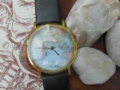 Reloj Mapamundi. http://sondemar.tictail.com/products/relojes