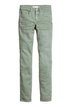 Pantalon en twill Slim fit | H&M