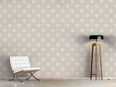 Design #Tapete Romantische Herzen