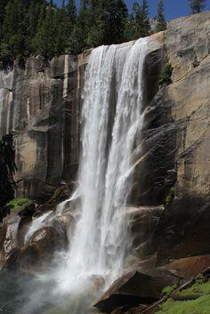 Yosemite National Park: Vernal Falls