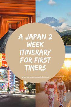 See all the highlights of Japan with this Japan 2 week itinerary for first timers